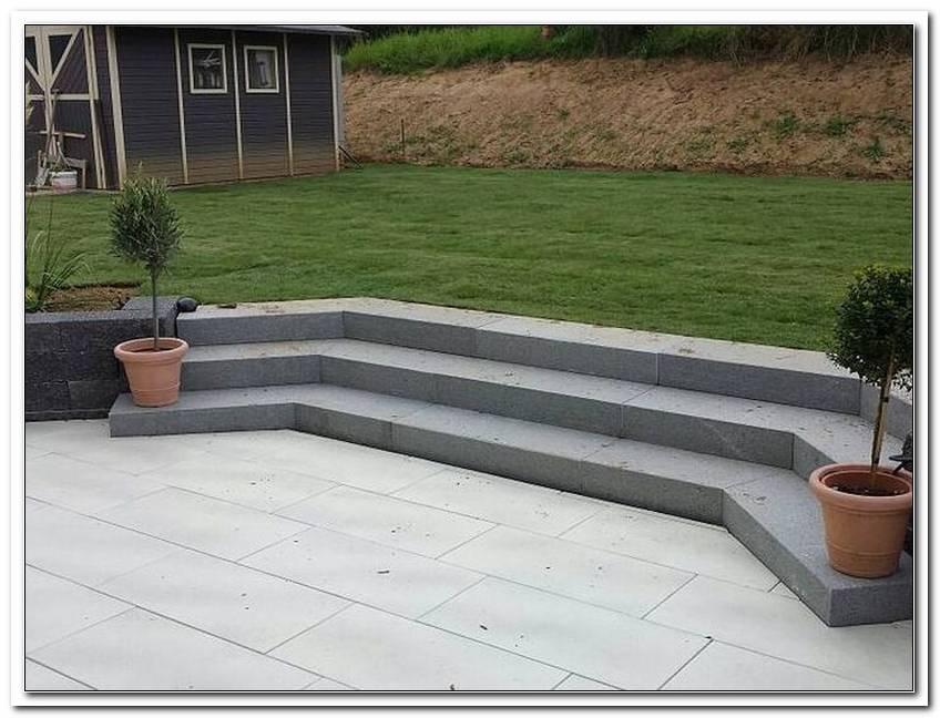 Terrasse Treppe Beton