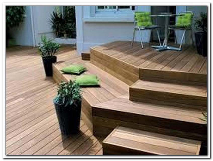 Terrasse Treppe Holz