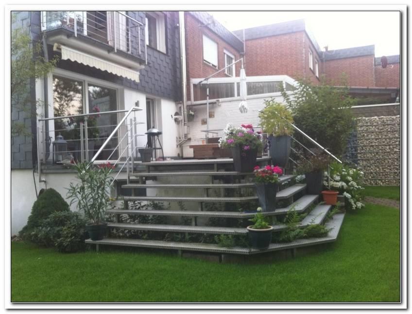 Terrasse Treppe Metall