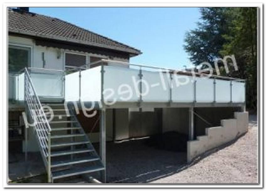 Terrasse Zaun Metall
