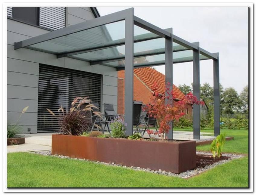 Terrassen Abtrennung Metall