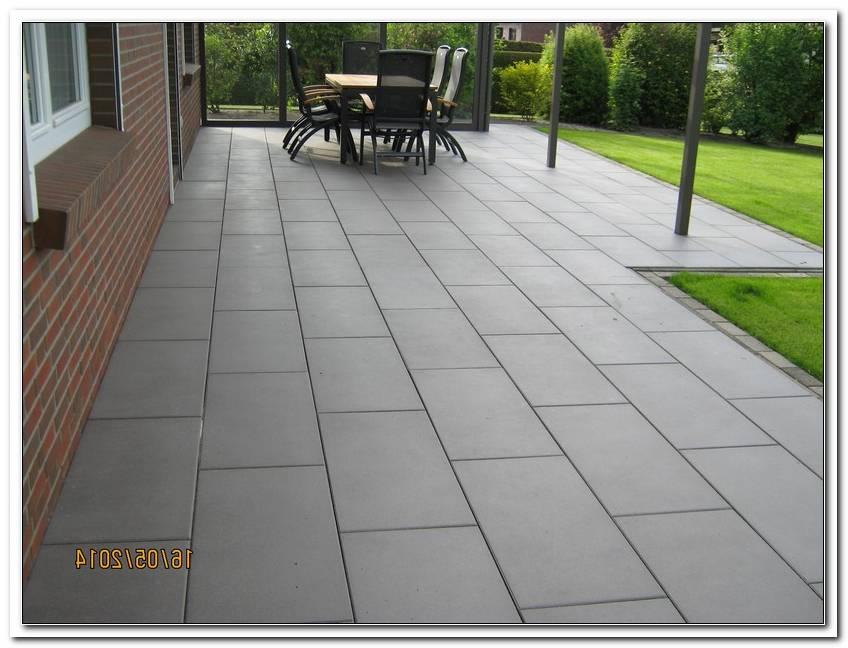 Terrassen Betonplatten