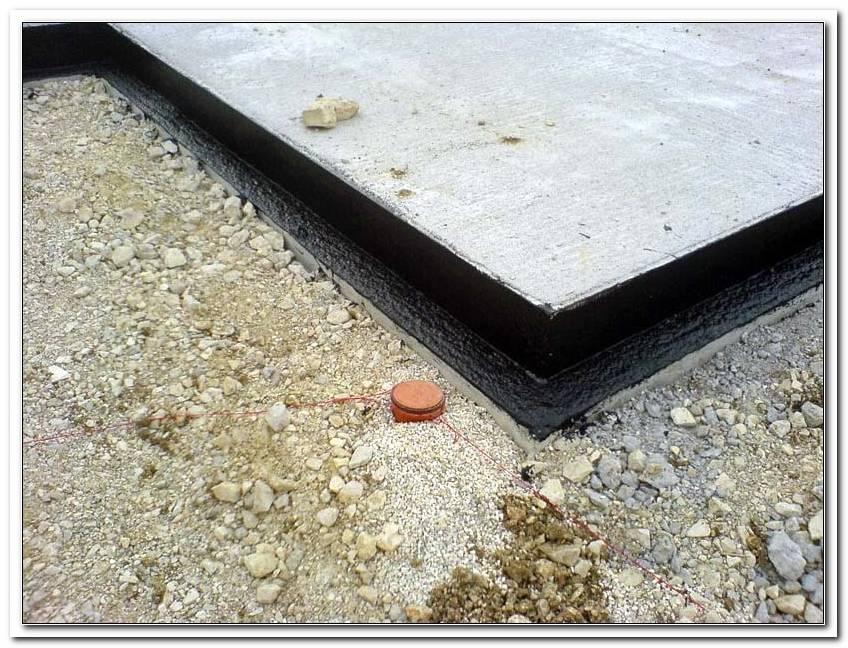 Terrassen Bodenplatte Abdichten