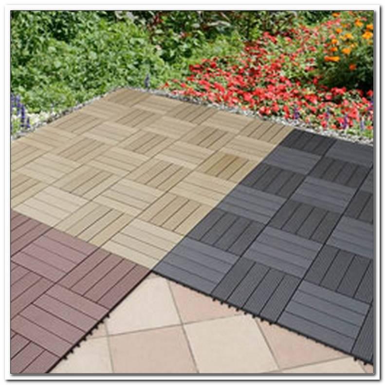 Terrassen Bodenplatten Kunststoff