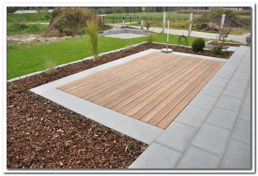 Terrassen Holzboden