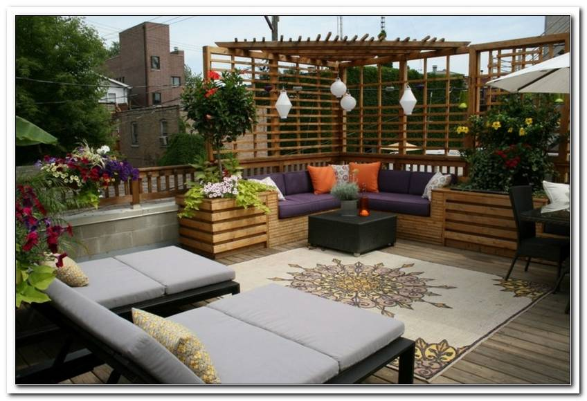 Terrassen Ideen Gestaltung