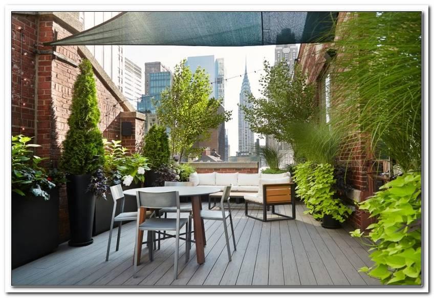 Terrassen Ideen Pflanzen