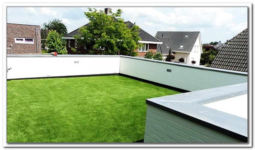 Terrassen Rasen