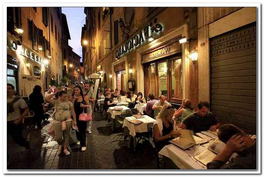 Terrassen Rome