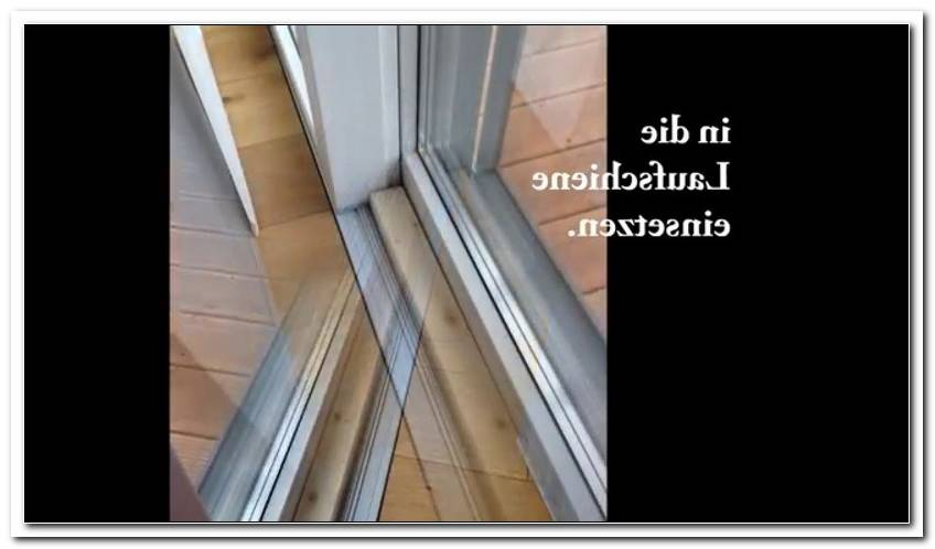Terrassen Schiebet?R Sichern