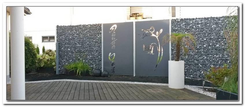 Terrassen Sichtschutz Metall