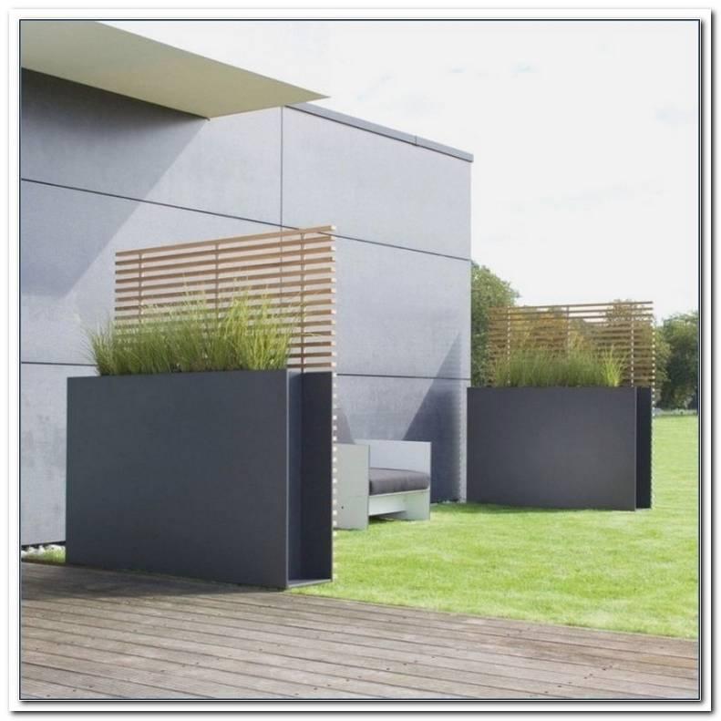 Terrassen Sichtschutz Modern
