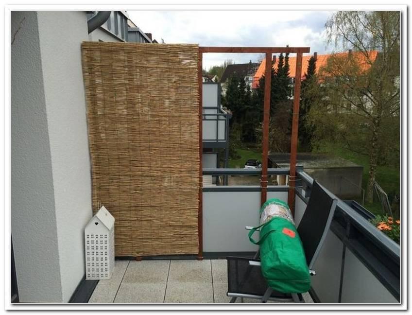Terrassen Sichtschutz Selber Bauen