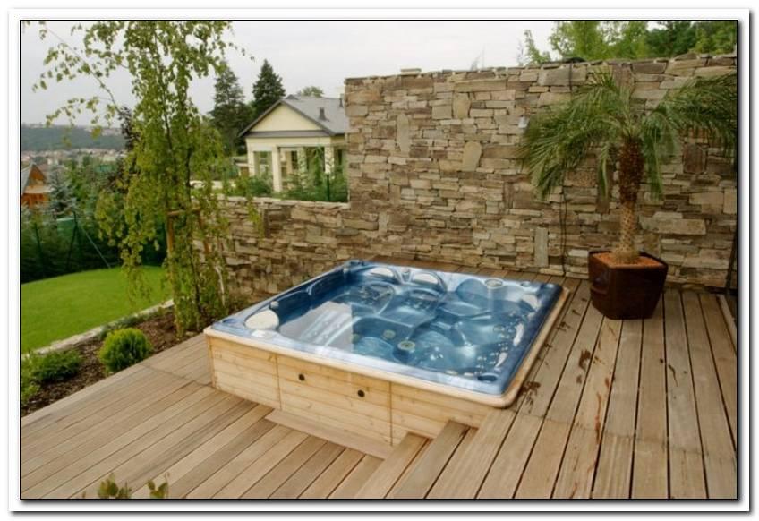 Terrassen Whirlpool
