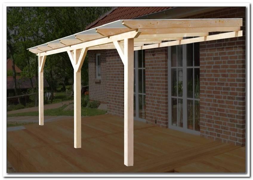 Terrassen?Berdachung 6x3 5 M Holz