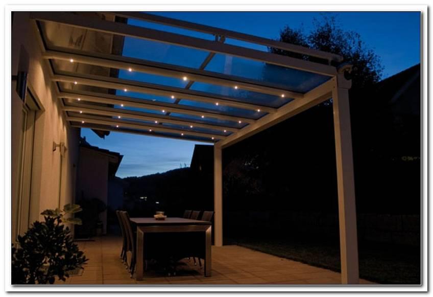 Terrassen?Berdachung Alu Beleuchtung