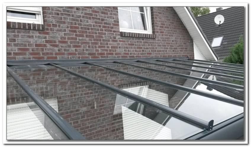 Terrassen?Berdachung Alu Glas 6x4