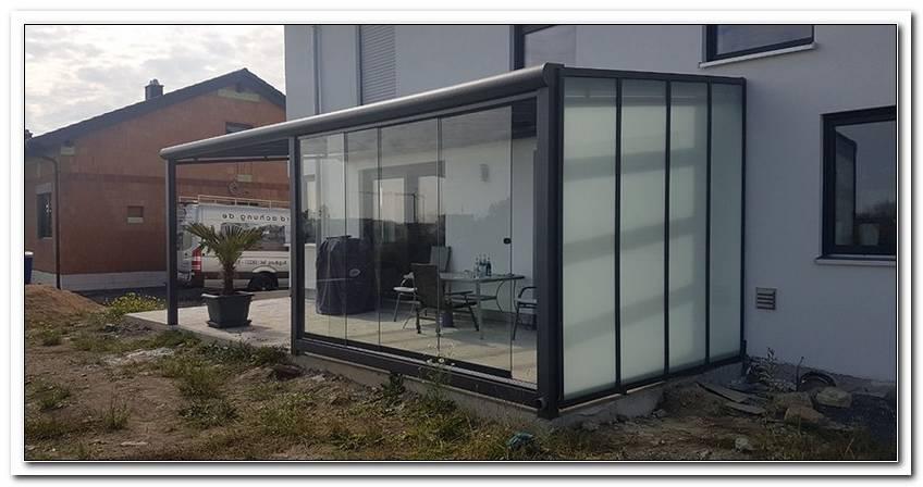 Terrassen?Berdachung Alu Glas Venlo