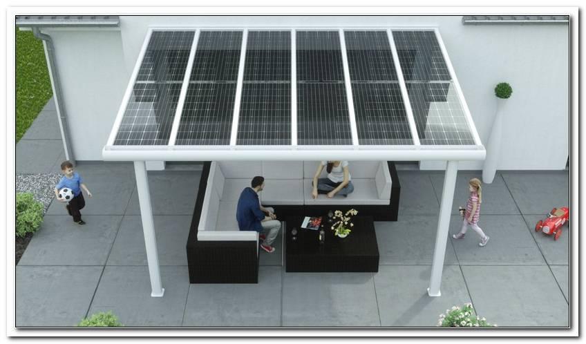 Terrassen?Berdachung Alu Solar