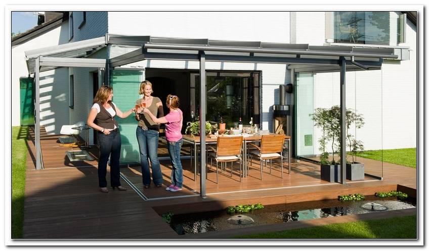 Terrassen?Berdachung Ausstellung Hannover