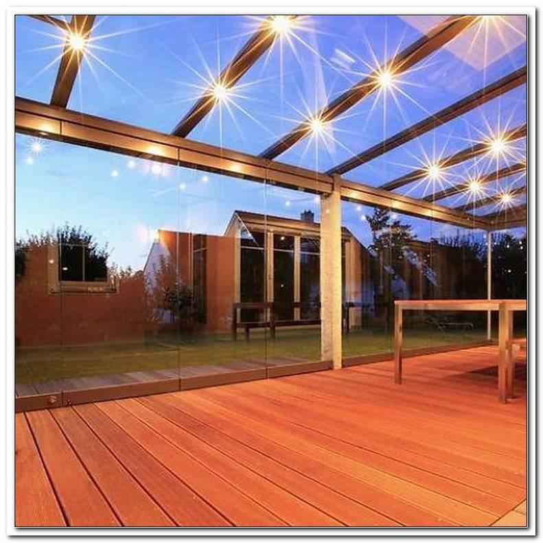 Terrassen?Berdachung Beleuchtung