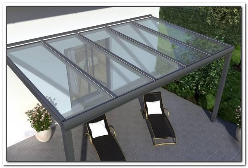 Terrassen?Berdachung Glas Alu Profile