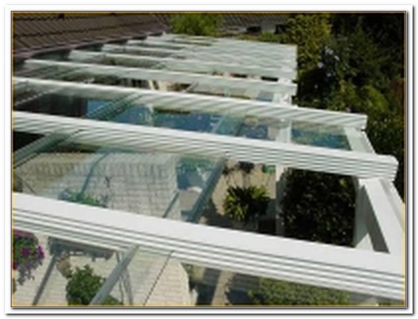 Terrassen?Berdachung Glas Zum Aufschieben