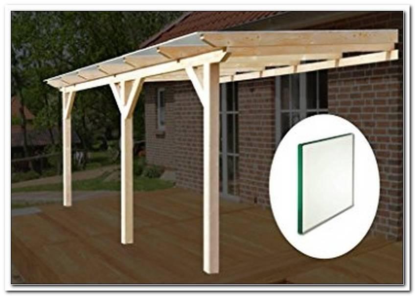 Terrassen?Berdachung Holz 700 X 300