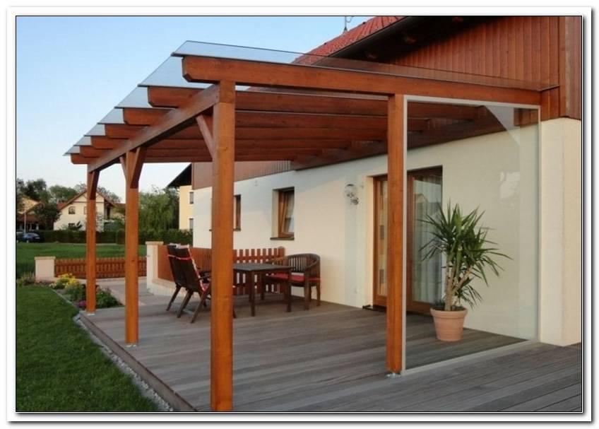 Terrassen?Berdachung Holz Glas Konfigurator