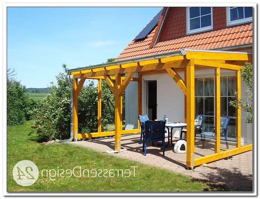 TerrassenBerdachung Holz Mit Glasdach