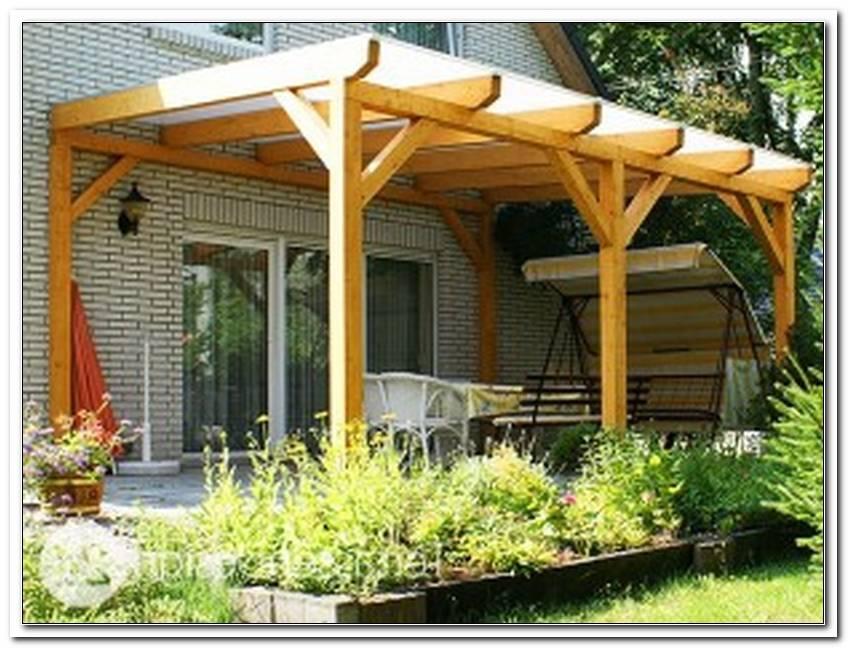 Terrassen?Berdachung Holz Mit Stegplatten