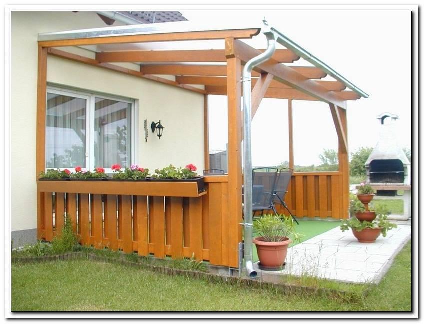 Terrassen?Berdachung Holz Schiebedach
