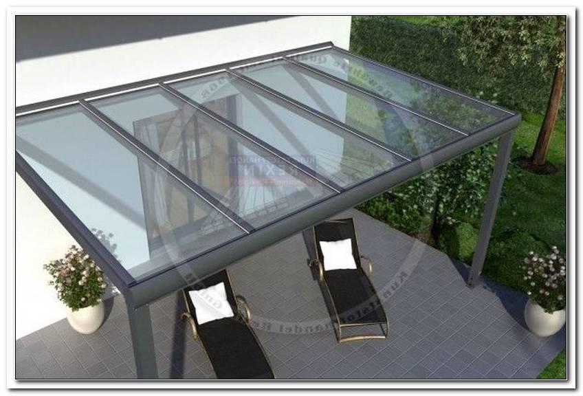 Terrassen?Berdachung Massivplatten
