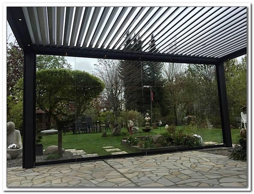 Terrassen?Berdachung Mit Beweglichem Dach