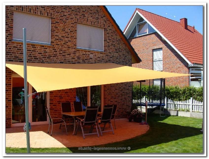 Terrassen?Berdachung Mit Sonnensegel