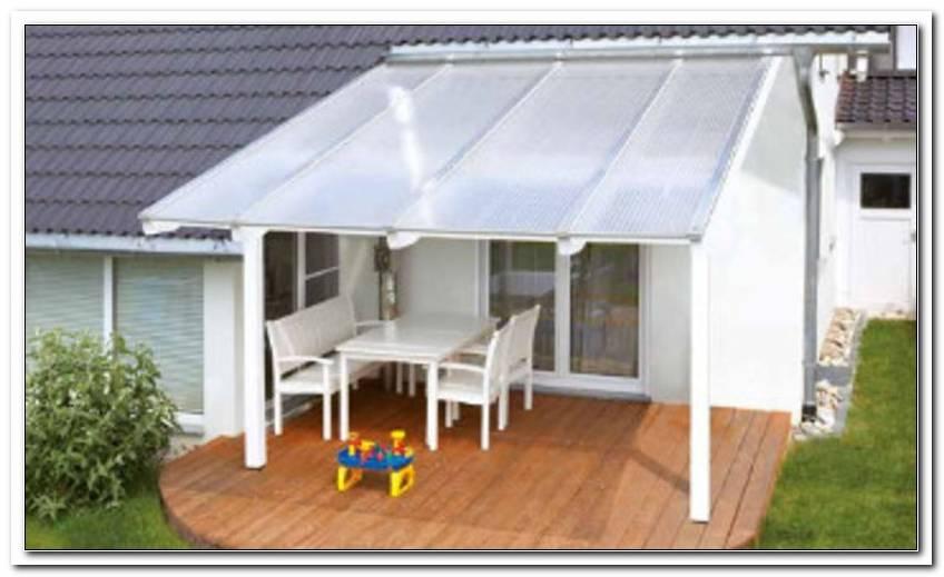 Terrassen?Berdachung Mit Stegplatten Selber Bauen