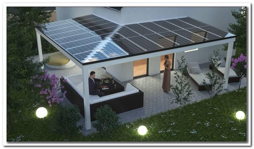 Terrassen?Berdachung Solar