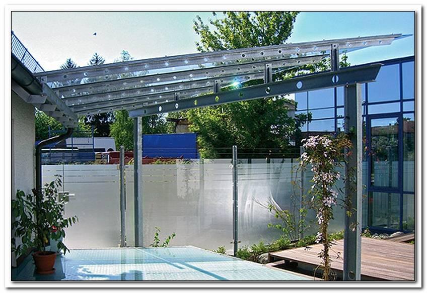 Terrassen?Berdachung Stahl Verzinkt Preise