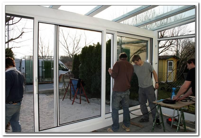 Terrassen?Berdachung Zum Wintergarten Umbauen