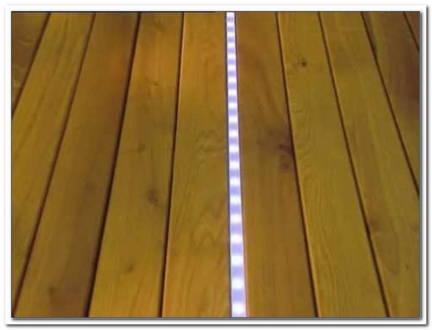 Terrassenbeleuchtung Boden Led