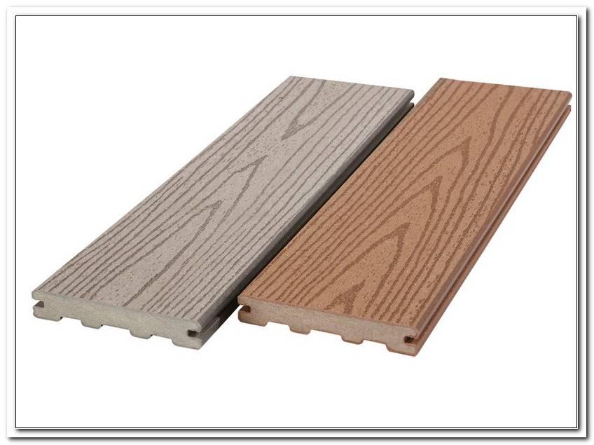 Terrassendielen Kunstholz