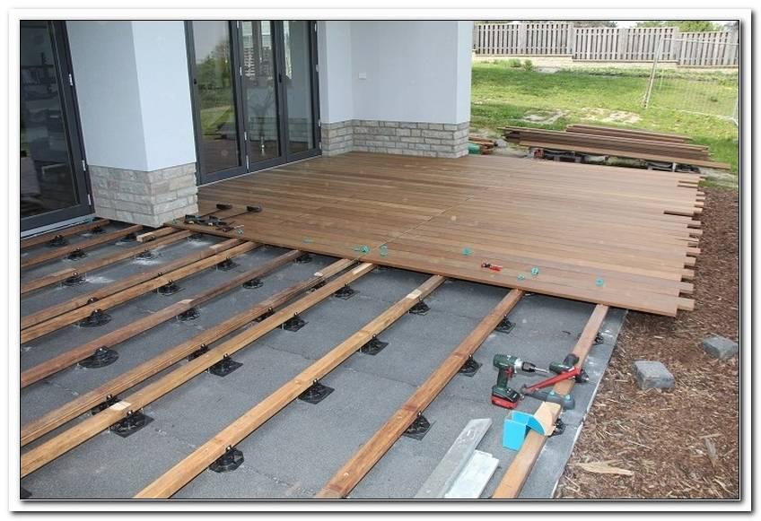 Terrassendielen Unterkonstruktion