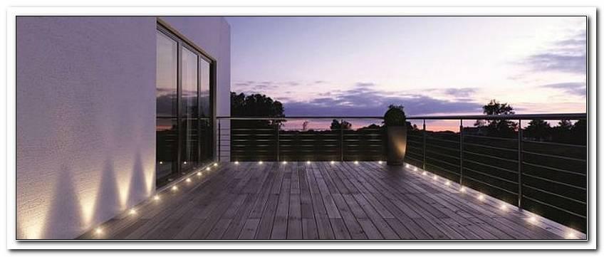 Terrassenlicht Boden