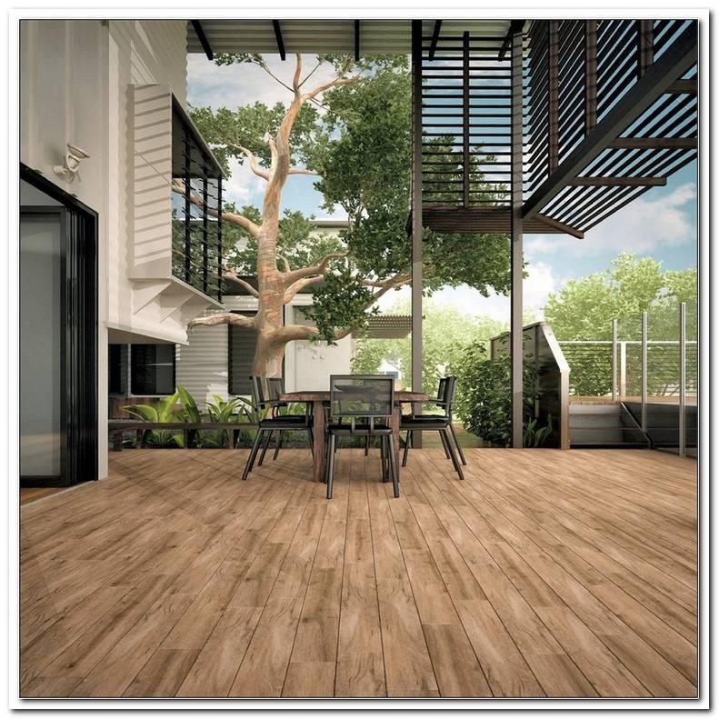 Terrassenplatten Holzimitat