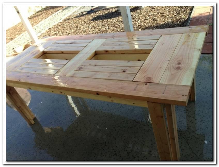 Terrassentisch Holz Selber Bauen