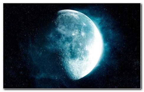 The Blue Moon HD Wallpaper