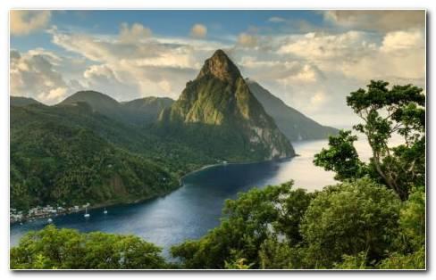 The High Green Mountains HD Wallpaper