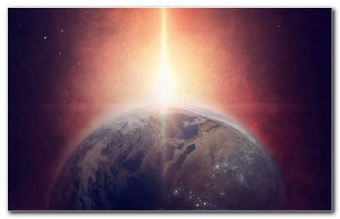 The Shining Earth HD Wallpaper