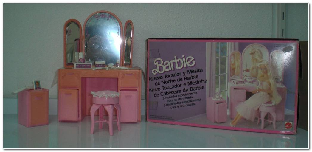 Tocador Barbie A Os 80