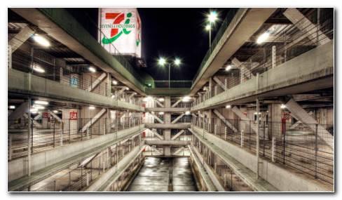 Tokyo Garage HD wallpaper